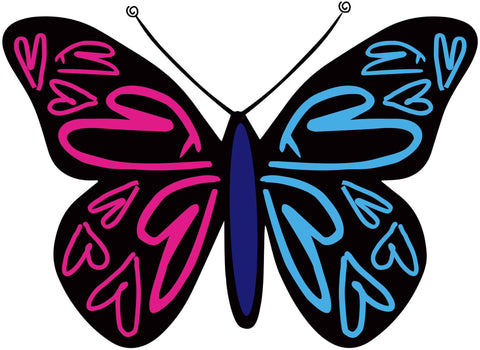 Sticker - #CauseTheWave Butterfly