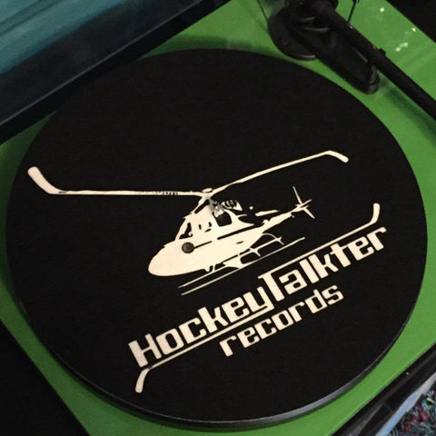 Hockeytalkter Records Turntable Slipmat