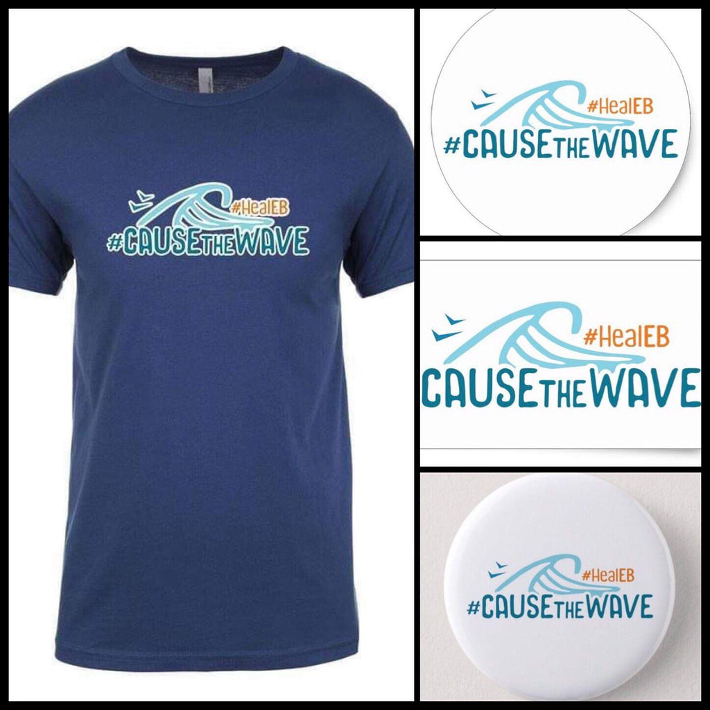 T-Shirt - #CauseTheWave 4-pack