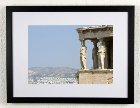 '3 Old Ladies' - Original, artistic Athens photography, framed