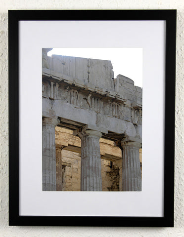 'Acropolis Height' - Original, artistic Athens photography, framed