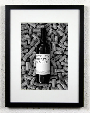 'American Beauty' - Original Wine Art, featuring RIDGE Vineyard's Monte Bello