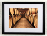 'Boillot Aisle' - Original Wine Art - Gevrey Chambertin Photography, framed
