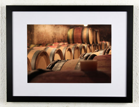'Boillot corner' - Original Wine Art - Gevrey Chambertin Photography, framed