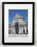'Commerce Square' - Lisbon, Portugal - Original Photography, Framed