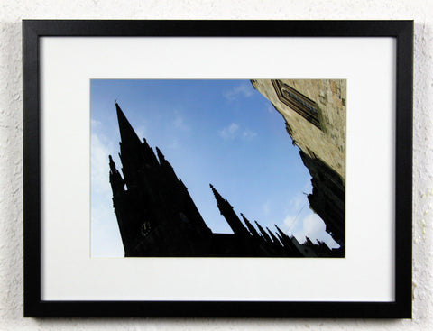 'Edinburgh Perspective' - Original Edinburgh photography, framed and mounted