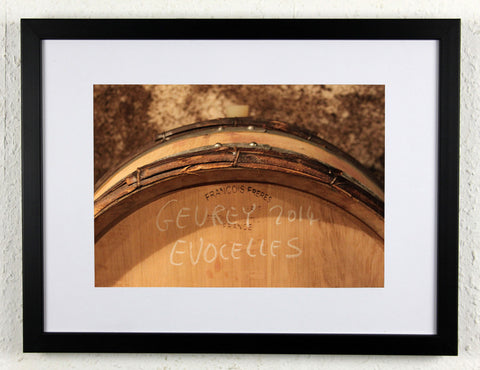 'EVOCELLES 14' - Original Wine Art - Gevrey Chambertin Photography, framed