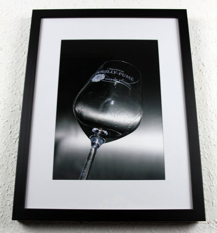 'Fume Glass' - Original Wine Art - Photography, Framed and mounted