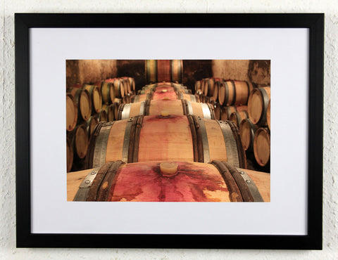 'Gevrey Stack' - Original Wine Art - Gevrey Chambertin Photography, framed