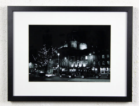 'Grassmarket Night' - Original Edinburgh photography, framed and mounted