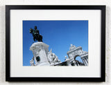'Guard the Gate' - Lisbon, Portugal - Original Photography, Framed