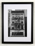 'Kitchen Block' - Original New York City photography, framed and mounted