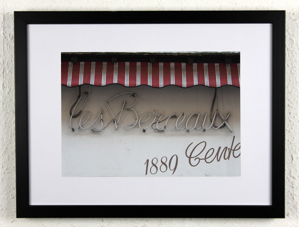 'Les Berceaux' - Original photography from Champagne, France - framed