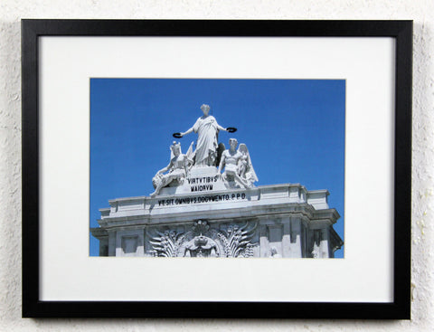 'Lisbon Gate' - Lisbon, Portugal - Original Photography, Framed and mounted