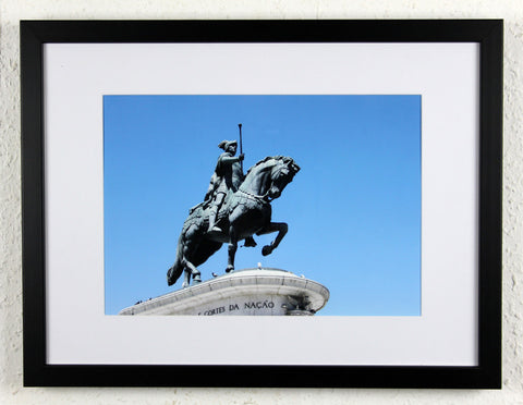 'King John I' - Lisbon, Portugal - Original Photography, Framed and mounted