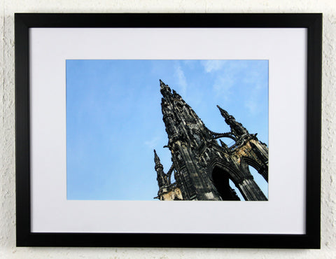 'Monument' - The Scott Monument, Original Edinburgh photography, framed