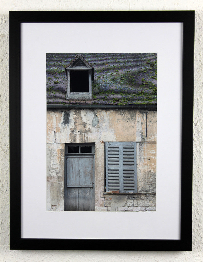 'Nuits Home' - Original French setting photography, framed