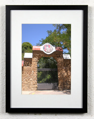 'Park Gate' - Original Park Güell Barcelona Photography, Framed