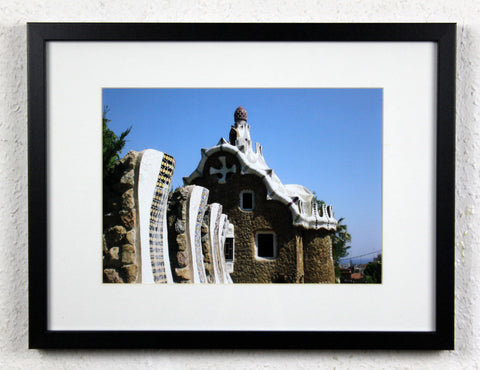 'Park Güell 1' - Original Barcelona Photography, Framed and mounted