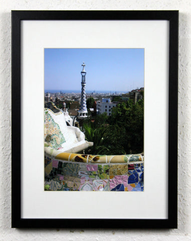 'Park Güell 2' - Original Barcelona Photography, Framed and mounted