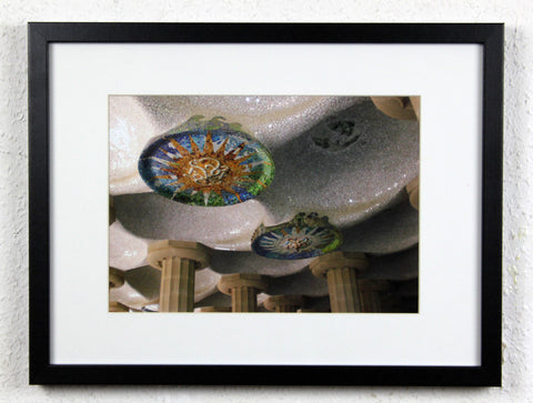 'Park Güell 3' - Original Barcelona Photography, Framed and mounted