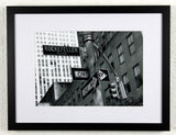 'Rockefeller direction' - Original New York City photography, framed