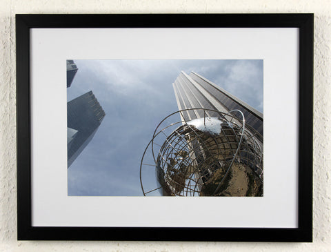 'Trump Globe' - Original New York City photography, framed & mounted
