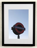 'UNDERGROUND' - London Underground, Original photography, framed