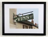 'VINS' - Original Wine Art - Nuits St Georges Photography, framed