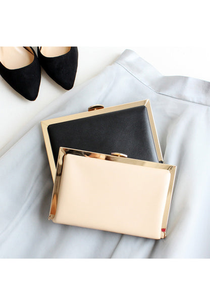 | BACK-IN-STOCK | Becky Clutch - 2 Ways (Cream) - TUESDAY C.