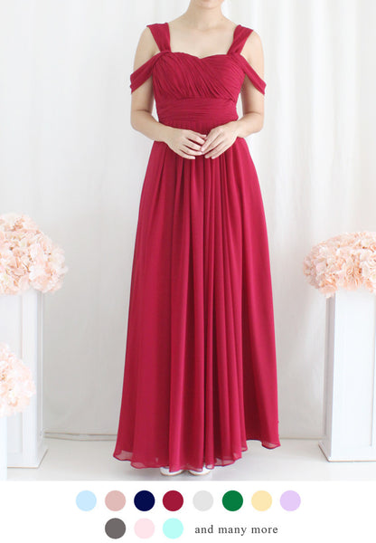 TC Vivienne Multiway Bridesmaid Maxi Dress (Custom-Made) TUESDAY C. - TUESDAY C.