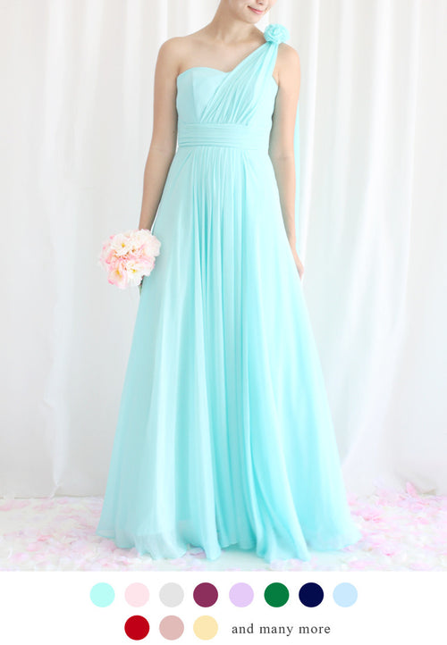 TC Aleandra Toga Bridesmaid Maxi Dress (Custom-Made) TUESDAY C. - TUESDAY C.
