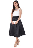 DOLLY Midi Skirt - Black (Size XS to L) - TUESDAY C.