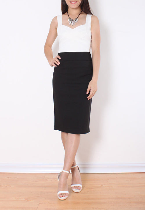 (20% OFF) KAREN Midi Pencil Skirt - Size L & XL - TUESDAY C.