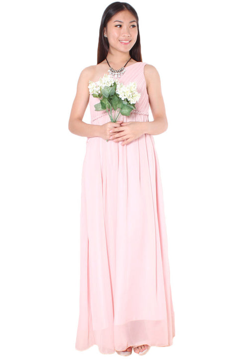 LAINEY Maxi Dress (Pink) - Size S & M - TUESDAY C.
