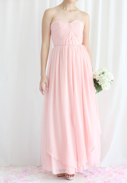 TC Leana Chiffon Convertible Bridesmaid Dress (Custom-made) TUESDAY C. - TUESDAY C.