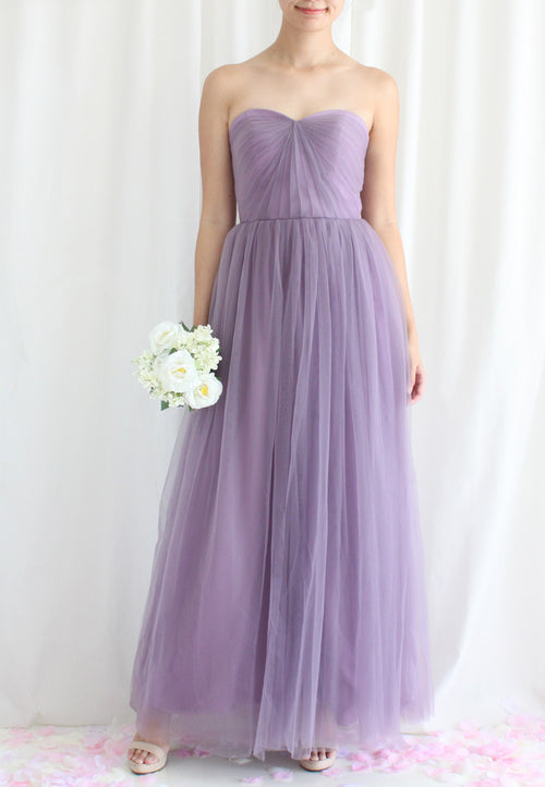 TC Leanore Tulle Convertible Bridesmaid Dress (Custom-made) TUESDAY C. - TUESDAY C.