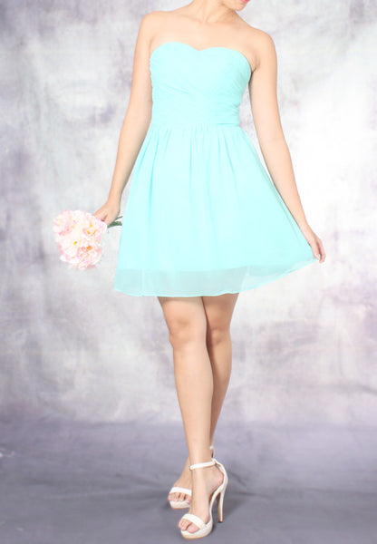 (20% OFF) TC Amadine Sweetheart Bridesmaid Dress (Tiffany Blue) - Size XS to L - TUESDAY C.