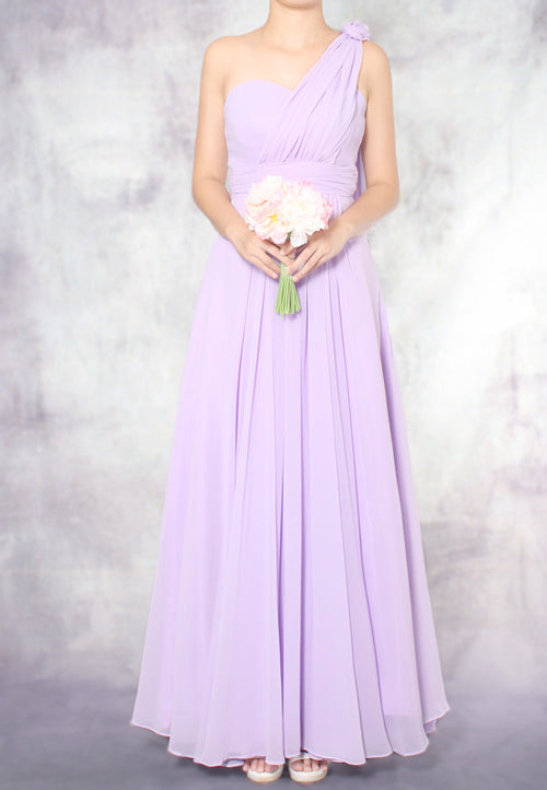 (20% OFF) TC Aleandra Toga Maxi Bridesmaid Dress (Lavender) - Size XS to L - TUESDAY C.