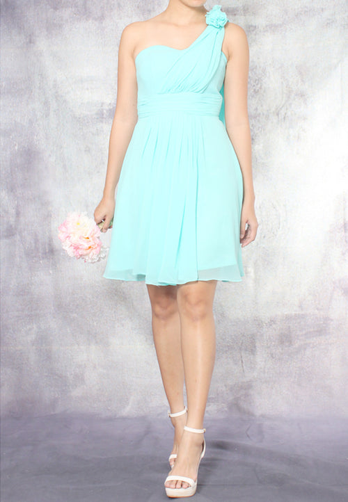 (20% OFF) TC Aleandra Toga Bridesmaid Dress (Tiffany Blue) - Size XS to L - TUESDAY C.