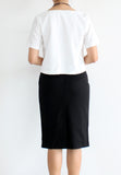 TC Glen Basic Boxy Top (White) - Size S / M / L - TUESDAY C.
