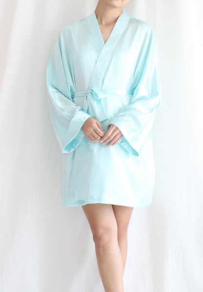 TC Lysa Kimono Robe (Tiffany Blue) - Free Size - TUESDAY C.