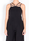Addison Romper (Black) - S / M - TUESDAY C.