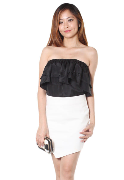 (50% OFF) TC VELICE 2-Ways Top (Black) - TUESDAY C.