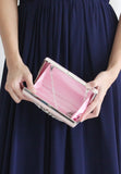 Merle Clutch - 2 Ways (Pink) - TUESDAY C.