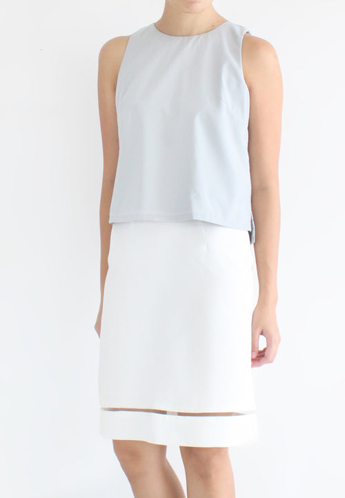 TC Travia Basic Sleeveless Top (Grey) - Size S / M / L - TUESDAY C.