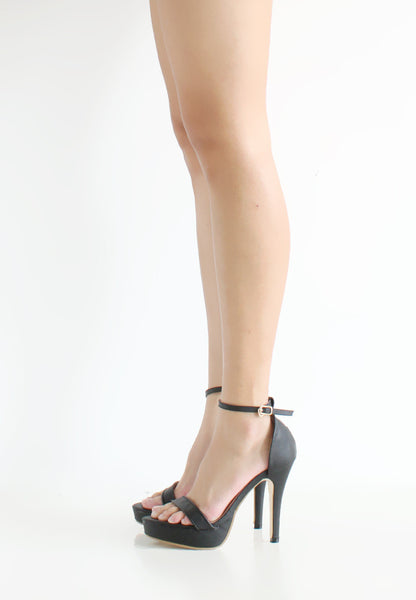 TC Kate Minimalist Strap Heels (Black) - 35 to 41 - TUESDAY C.