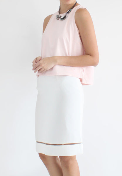 TC Travia Basic Sleeveless Top (Pink) - Size S / M / L - TUESDAY C.