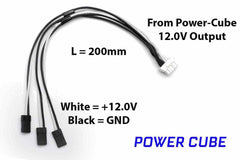 Mauch 063 – Power Cube – 3 x 12.0V Output Cable