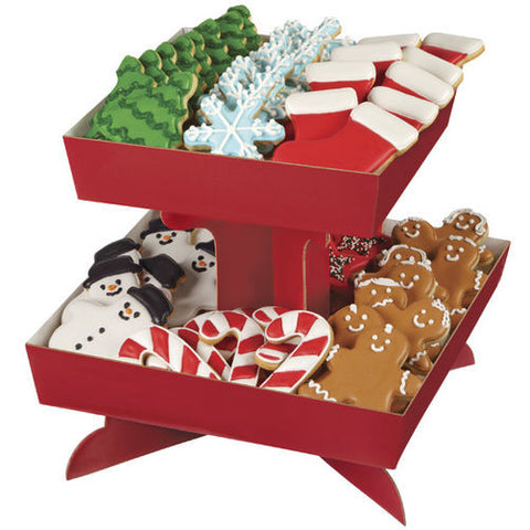 Red Treat Stand